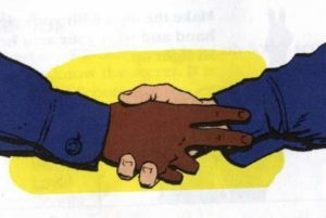 The Cub Scout Handshake