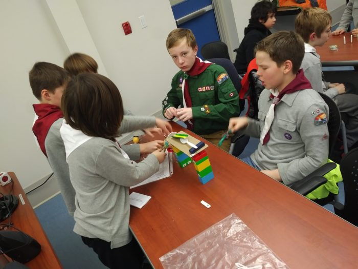 26th Halifax Cubs & Scouts at Let's Talk Science