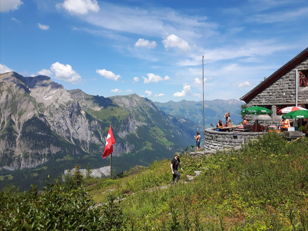 An 8-hour round trip hike to a mountain hut for alpine tea.