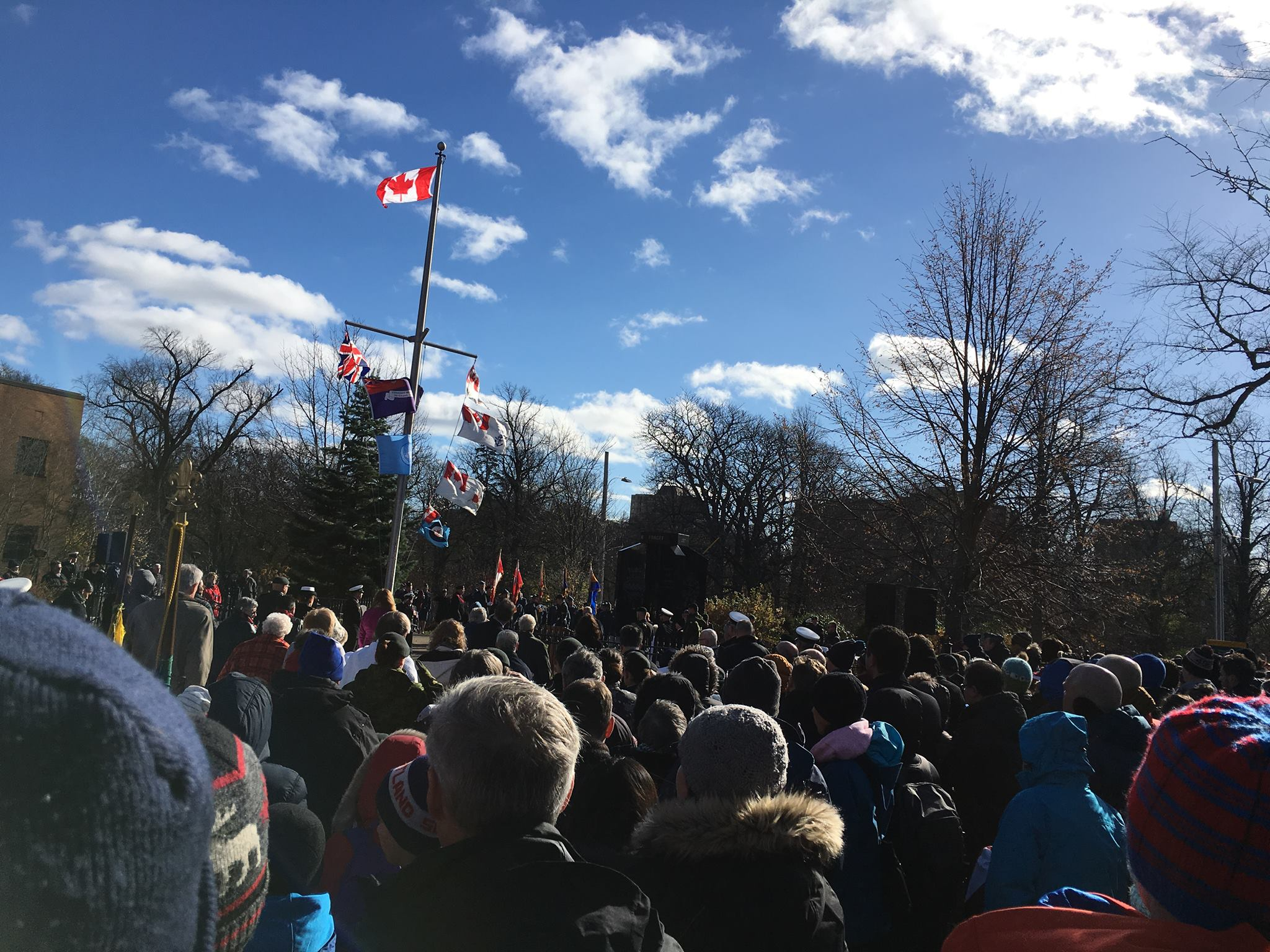26th Halifax attends Remembrance Day 2018